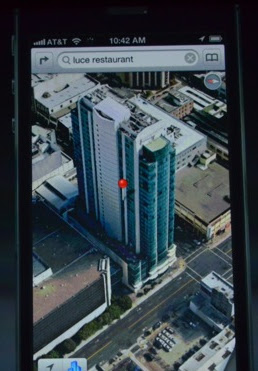 Iphone 5 3D maps