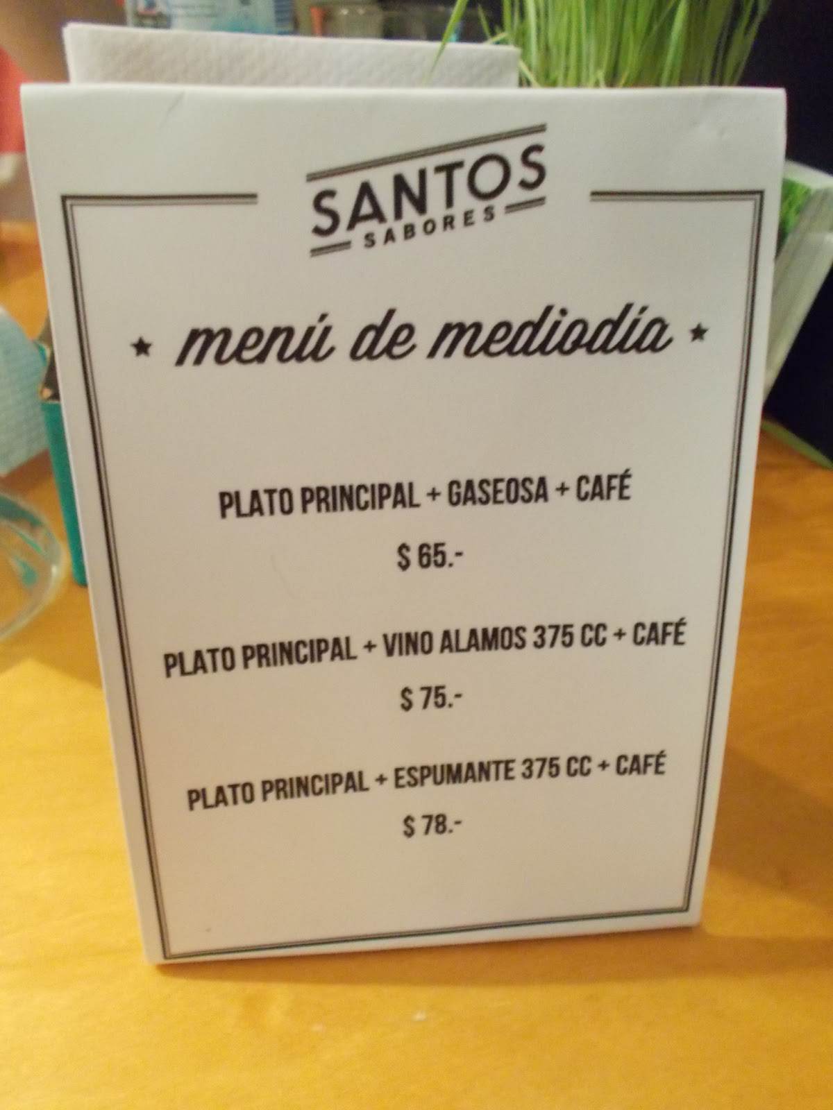 Santos sabores do what you love for Menus para almuerzos caseros