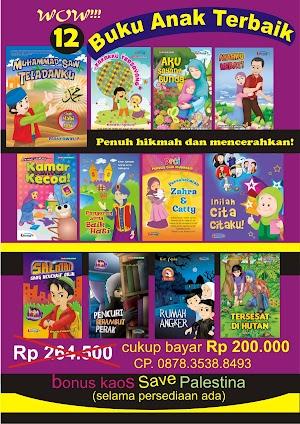 Paket 12 Buku Anak Terbaik