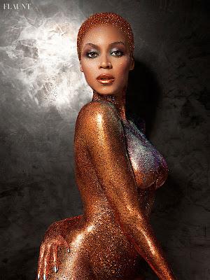 Beyonce Flaunt