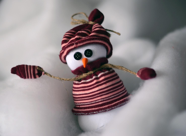 Снеговик своими руками мастер класс