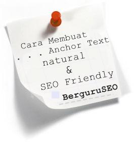 Cara Menciptakan Anchor Text | Natural | Seo Friendly