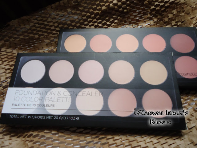 BH Cosmetics Foundation And Concealer Pallet