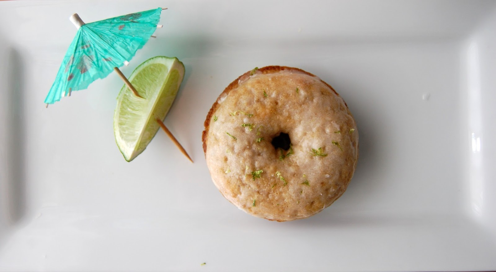 Baked Margarita Donuts