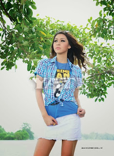 Myanmar model Thandar Bo