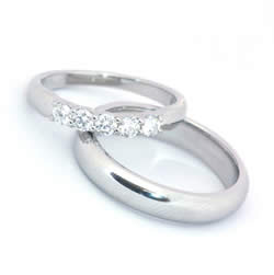 Wedding Dress on Couple Wedding Rings Silver   Wedding Gowns 2012