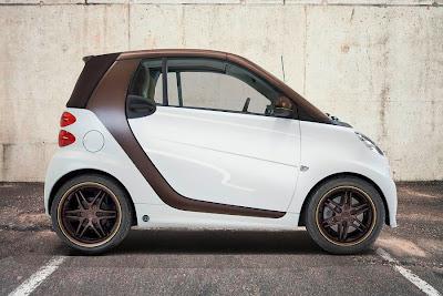 Smart ForTwo BoConcept Signature Style Cabrio (2013) Side
