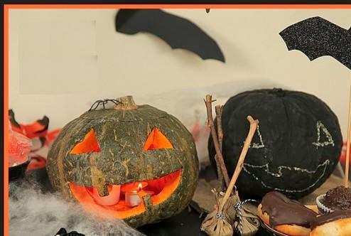 Manos a la obra como hacer calabazas de halloween - Como hacer calabaza halloween ...