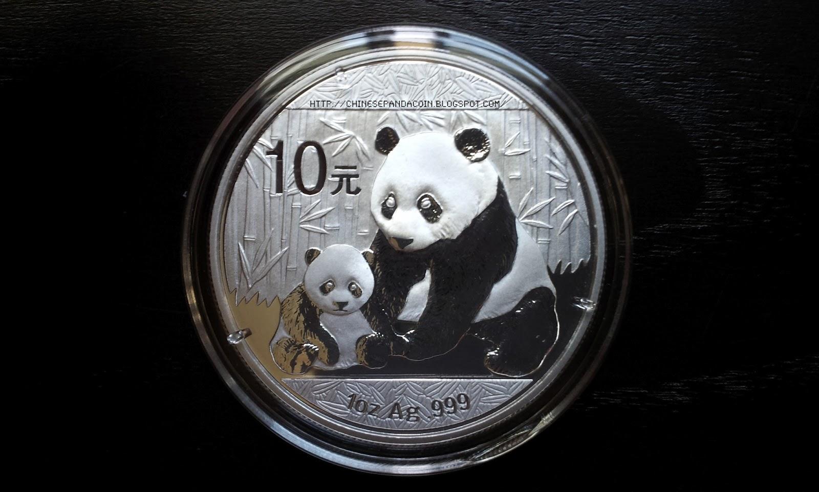 2012 1 Oz Silver Chinese Panda