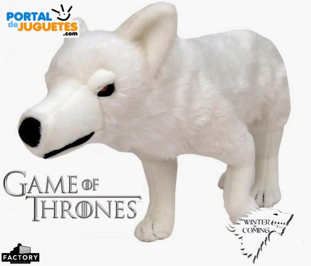 peluche lobo fantasma juego de tronos