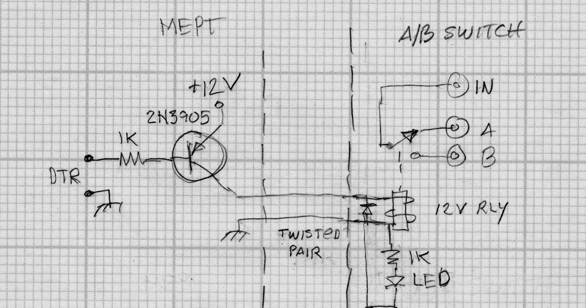 qrss de w4hbk  an automatic a  b antenna switch