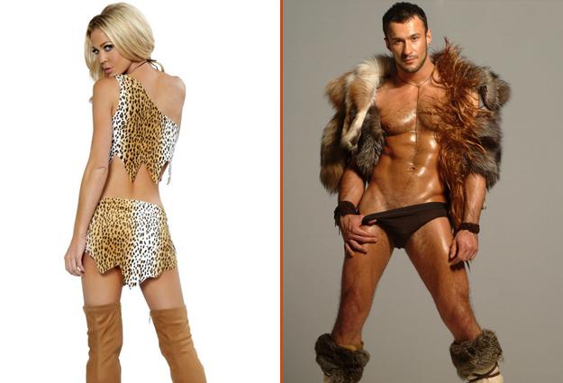 costume cromagnon homme et femme