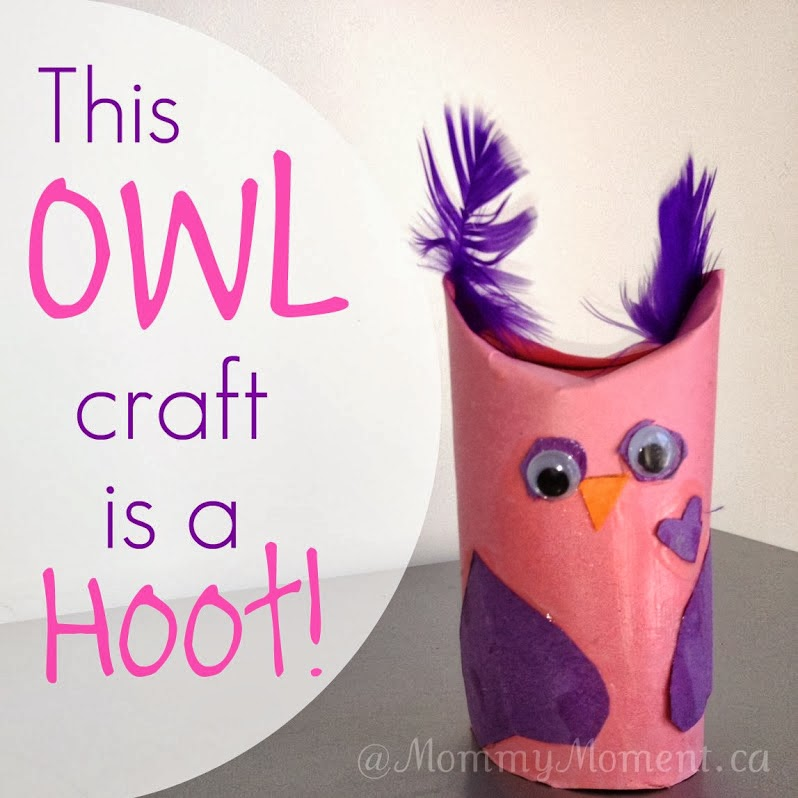 Owl Craft from Mommy Moment