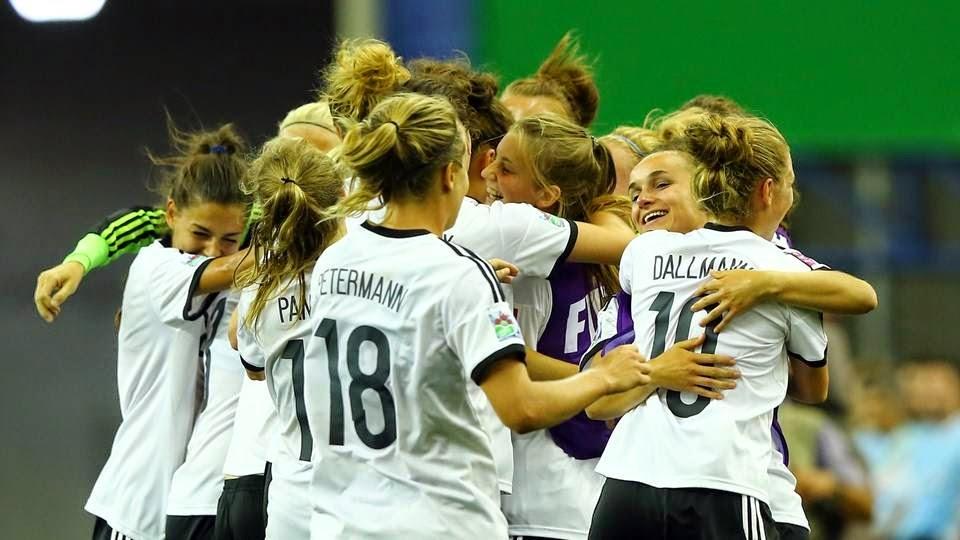 Alemania Sub 20-Nigeria Sub 20