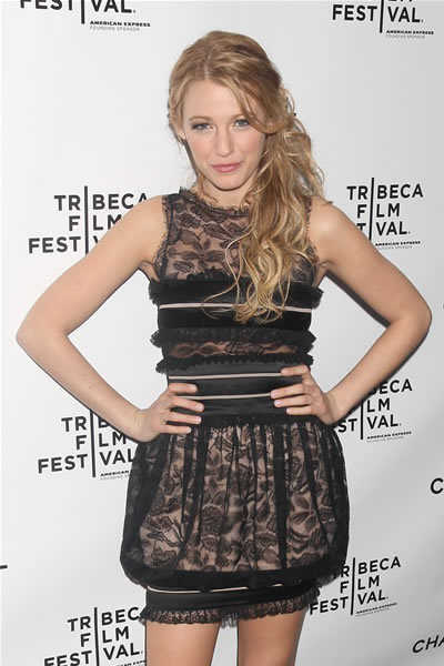 blake lively chanel dress. Blake Lively.