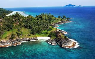 Silhouette Island in Seychelles