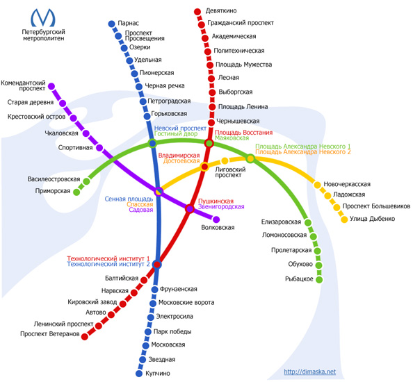 Метро спортивная карта спб