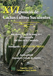 XVI Exposició de cactus i altres Suculentes