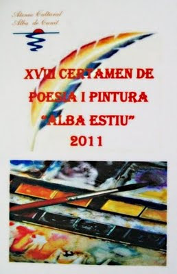 XVIII Certamen de Poesia i Pintura 'Alba Estiu' 2011