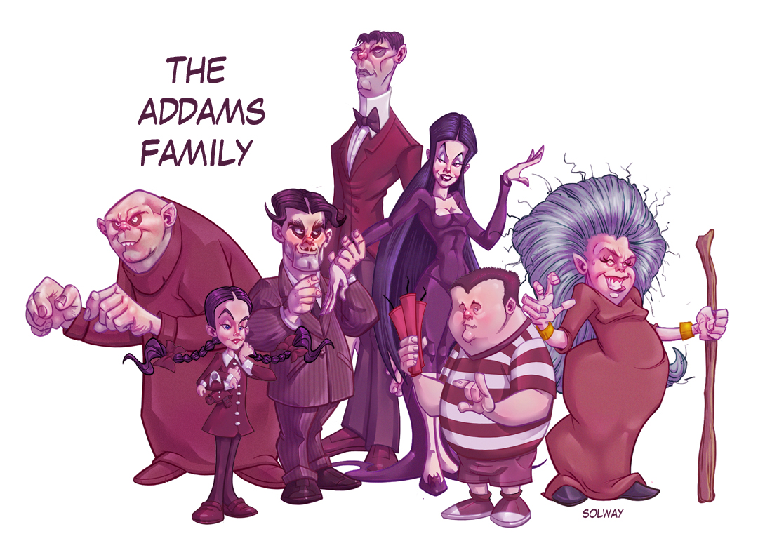 addams family birthday cards furthermore dr theda&39s crypt a little ...