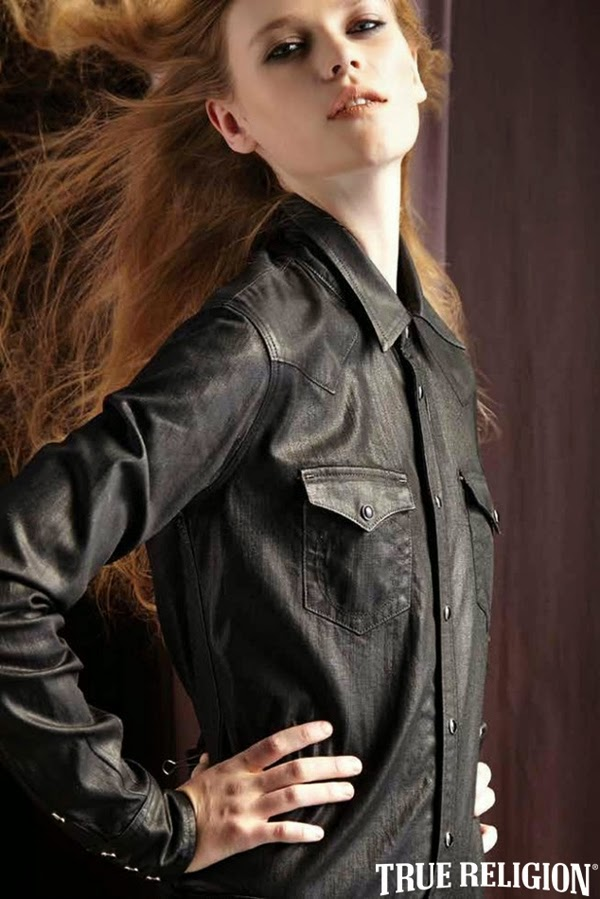 Caitlin Holleran - Cast Images - True Religion Holiday 2014 Lookbook