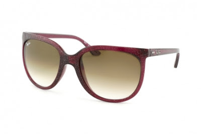 Ray-Ban Cats 1000 RB 4126 807 51 purple glitter