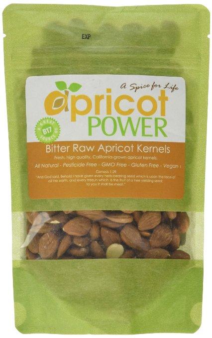 Bitter Raw Apricot Seeds - B17