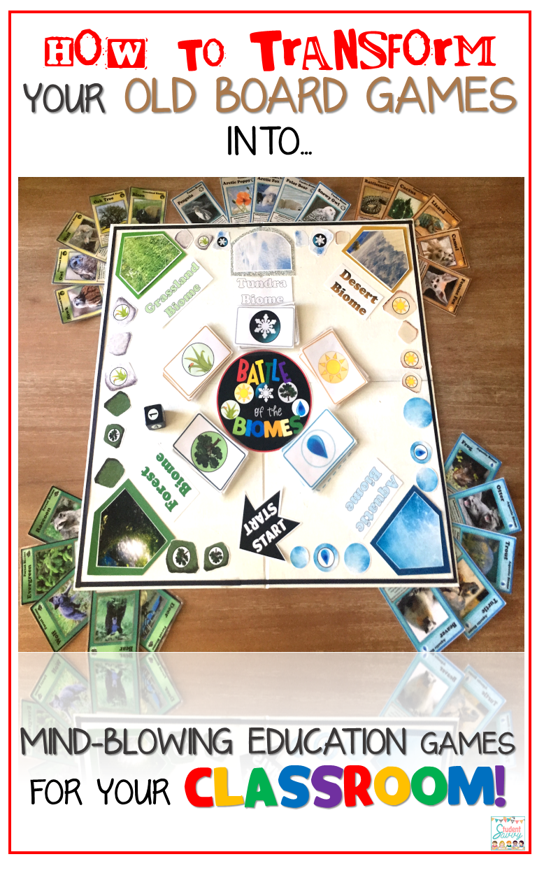 Classroom Game Ideas ~ Studentsavvy diy classroom board game