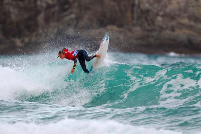 38 Justine Dupont FRA Pantin Classic Galicia Pro Foto WSL