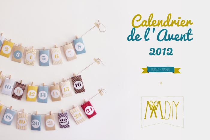 Le calendrier de l 39 avent monsieur plus madame le blog - Calendrier avent one piece ...