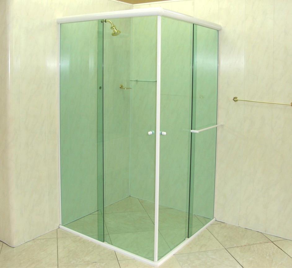Klein Vidraçaria e Esquadrias de Alumínio box de canto -> Box Para Banheiro Rio Pequeno