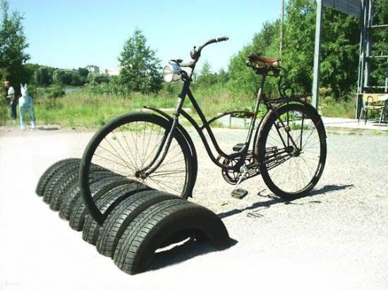 Going green with reuben recycling old tires what 39 s being for How to recycle old tires