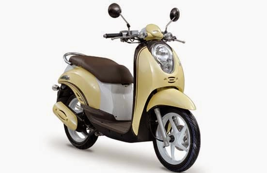 Honda Scoopy Yellow