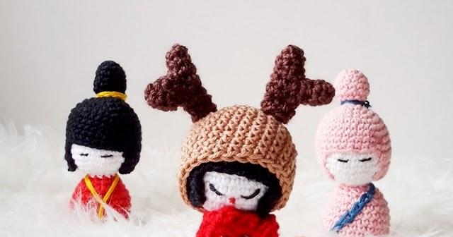 Free Amigurumi Kokeshi Doll Patterns : Amigurumi crochet pattern list the sun and the turtle