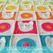 Teddy Bear Baby Blanket Pattern