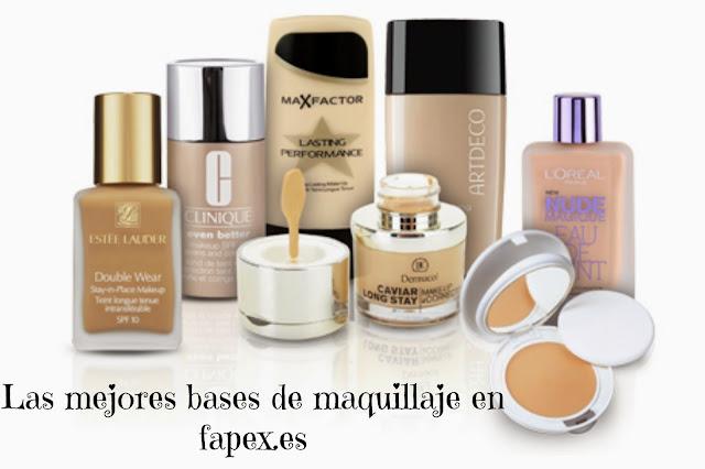 bases de maquillaje fapex.es