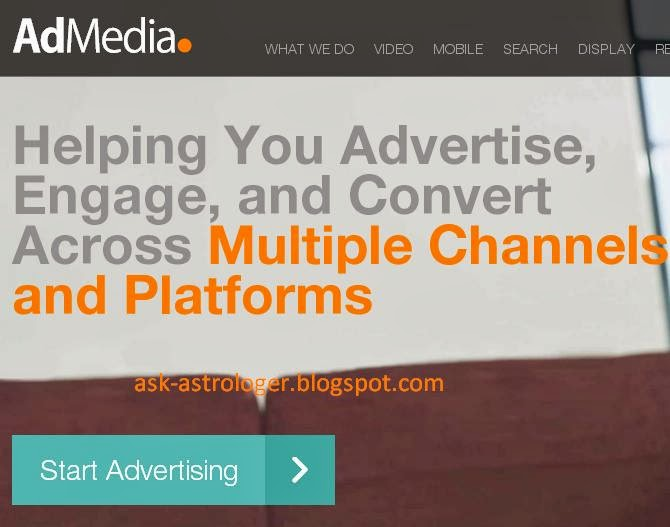 AdMedia CPM rates and Review