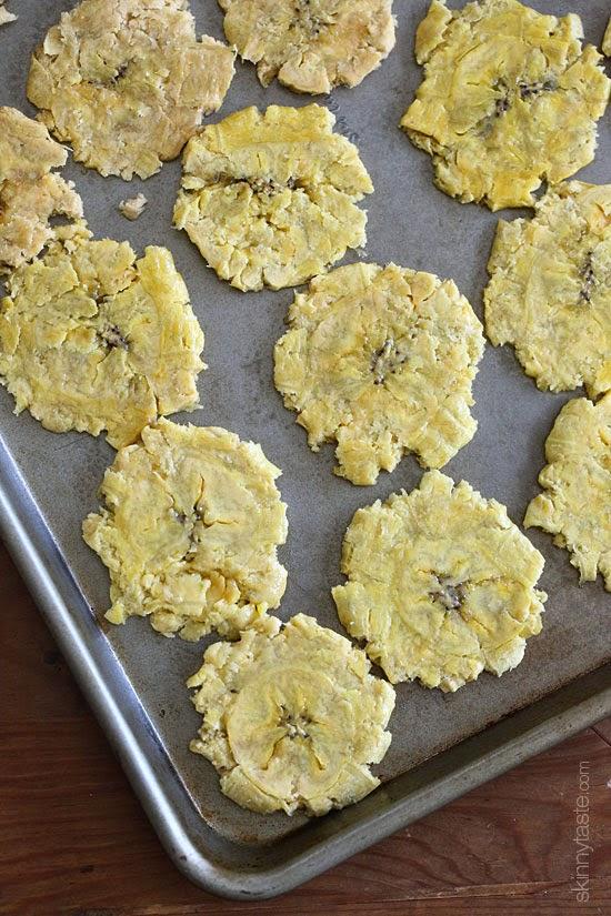 Baked Tostones (Green Plantains) | Skinnytaste