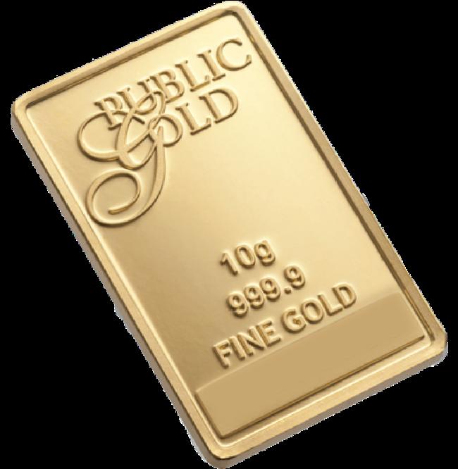 10G GOLD BARS