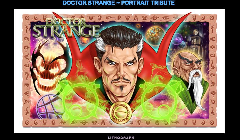 Dr Strange - Portrait Tribute