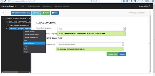Memilih Analisa Jabatan Aplikasi e-Formasi