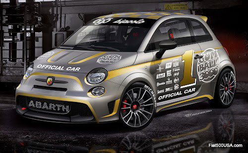 Abarth 695 biposto Gumball Rally