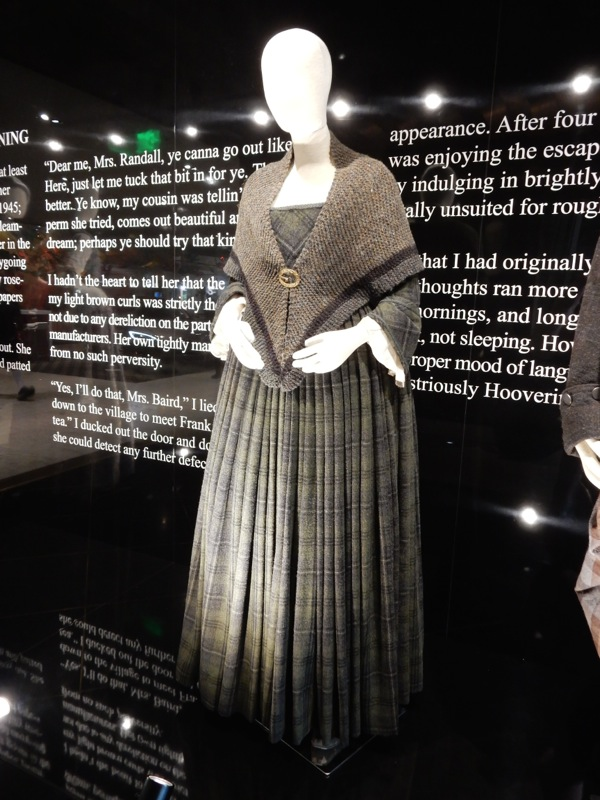 Outlander Claire Randall TV costume
