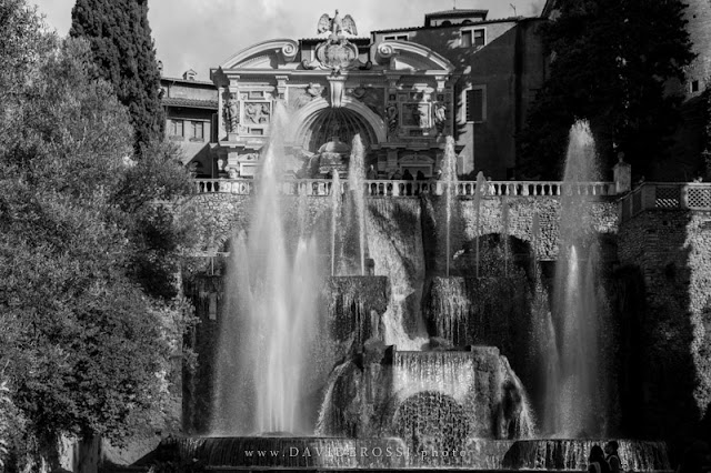 giochi d'acqua a Villa d'Este