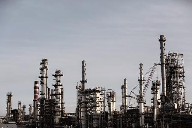 Los combustibles fósiles en mundo industrializado