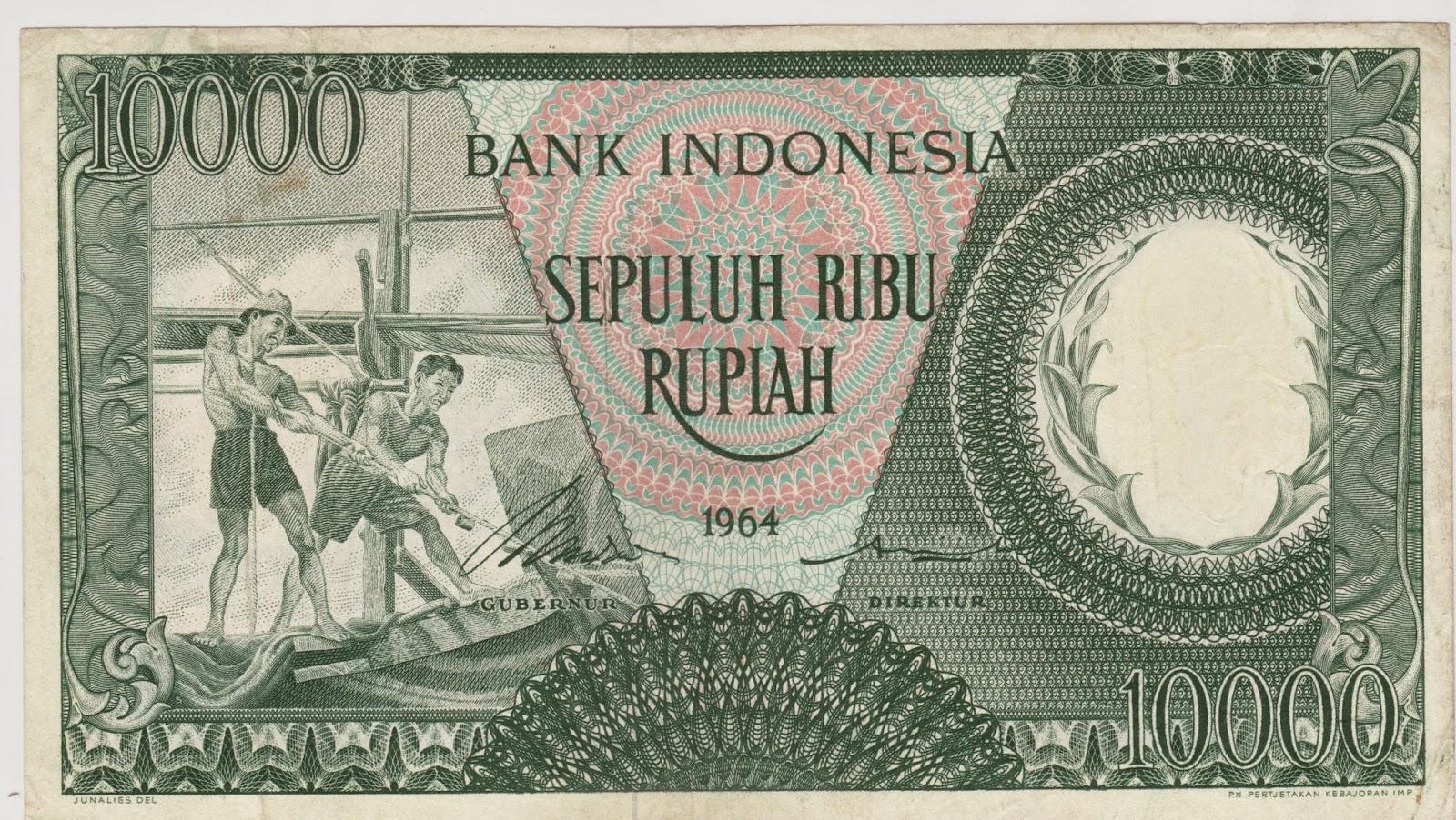 10.000 Rupiah Pekerja Hijau