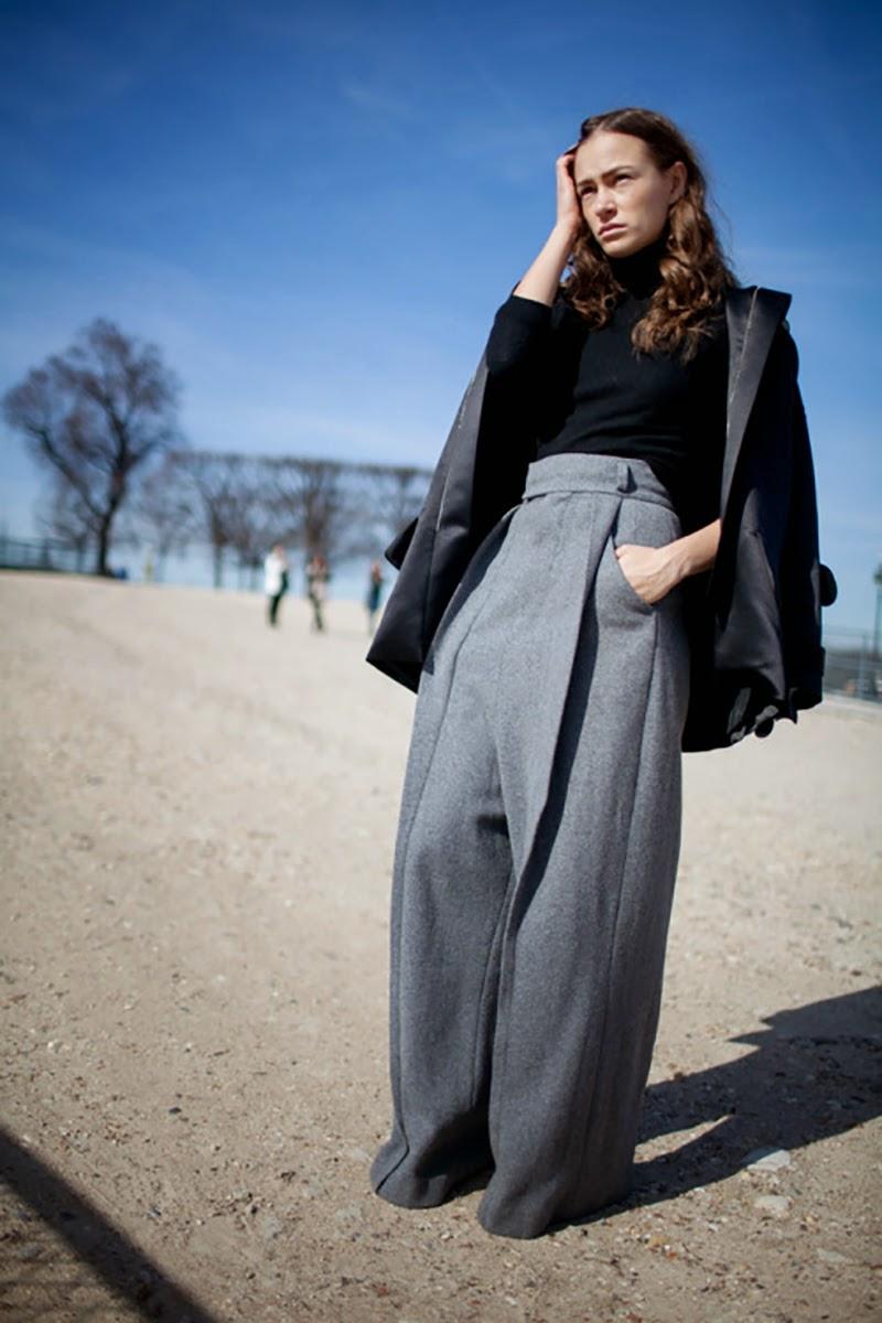 How to wear grey by Ninasavintage