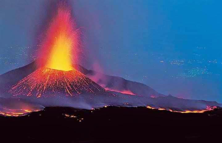 Mount Etna ranked 2nd