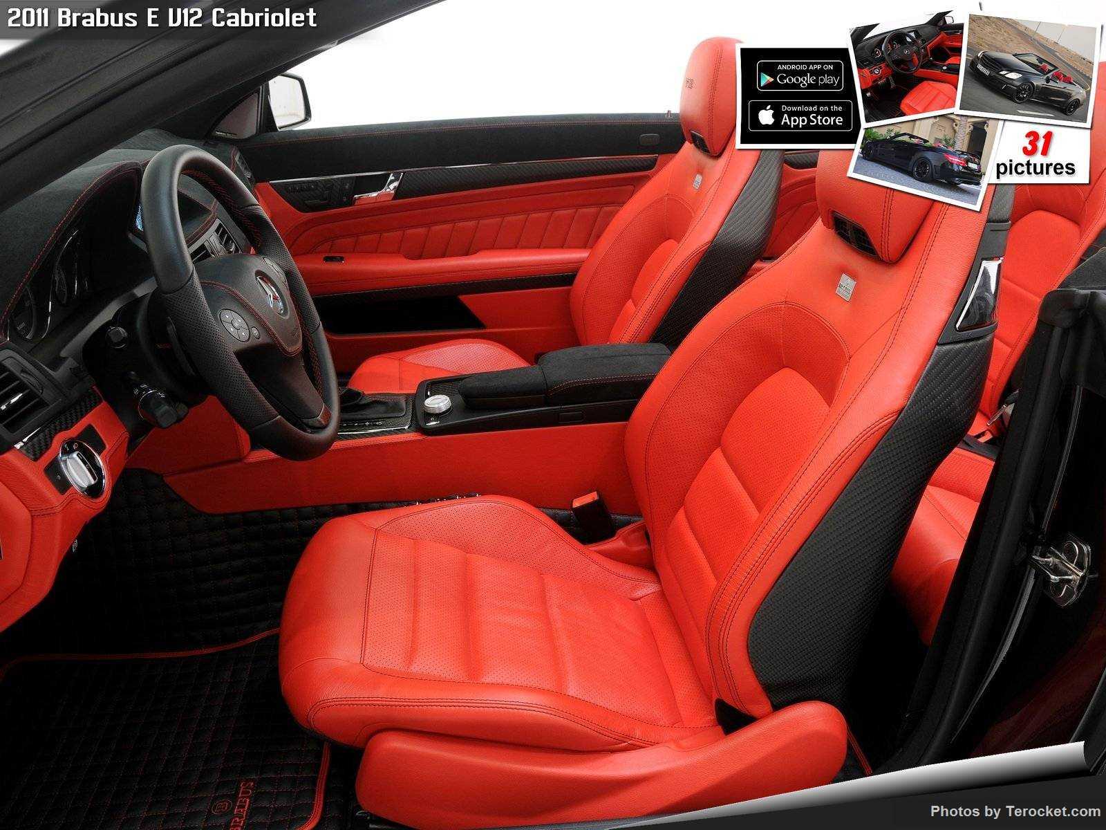Hình ảnh xe ô tô Brabus E V12 Cabriolet 2011 & nội ngoại thất