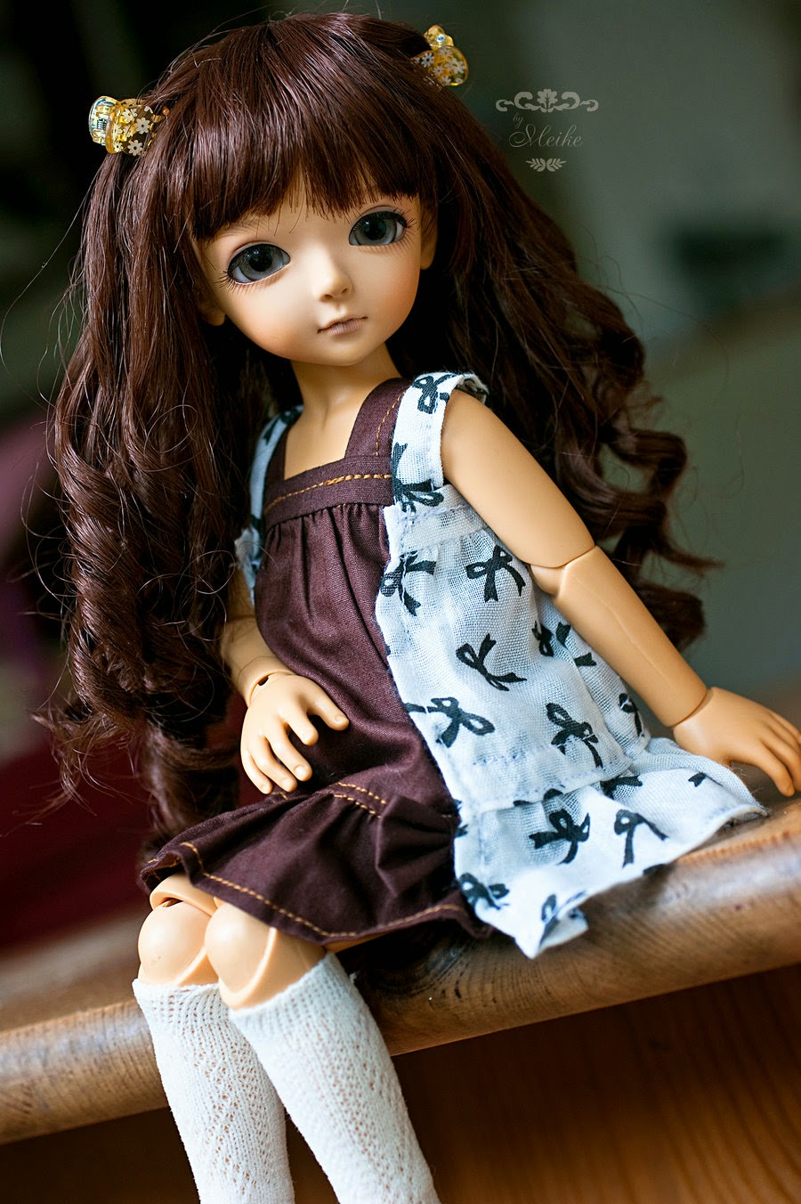 stylish cute dolls high definition photography wallpaper